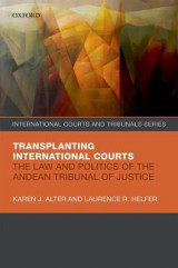 Omslag - The Transplanting International Courts
