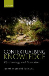 Omslag - Contextualising Knowledge