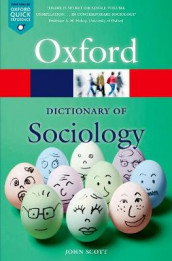 Omslag - A Dictionary of Sociology