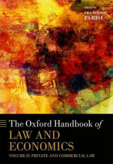 Omslag - The Oxford Handbook of Law and Economics: Private and Commercial Law Volume 2
