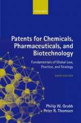 Omslag - Patents for Chemicals, Pharmaceuticals and Biotechnology