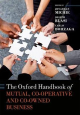 Omslag - The Oxford Handbook of Mutual, Co-Operative, and Co-Owned Business