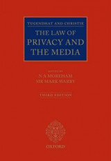 Omslag - Tugendhat and Christie: The Law of Privacy and The Media