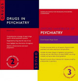 Omslag - Oxford Handbook of Psychiatry 3e and Drugs in Psychiatry 2e Pack