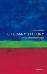 Omslag - Literary Theory: A Very Short Introduction