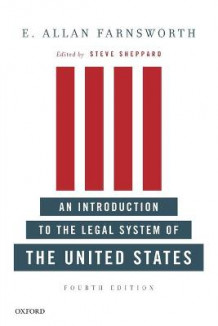 An Introduction to the Legal System of the United States av E. Allan Farnsworth (Heftet)