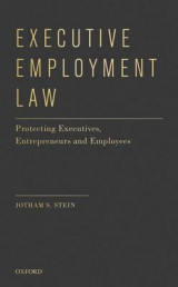 Omslag - Executive Employment Law