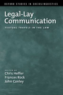 Legal-Lay Communication (Heftet)