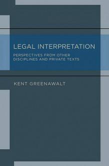 Legal Interpretation av Kent Greenawalt (Innbundet)