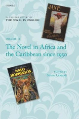 Omslag - The Novel in Africa and the Caribbean Since 1950