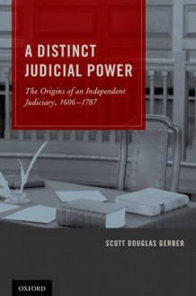 A Distinct Judicial Power av Scott Douglas Gerber (Innbundet)