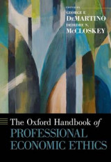 Omslag - The Oxford Handbook of Professional Economic Ethics