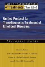 Omslag - Unified Protocol for Transdiagnostic Treatment of Emotional Disorders