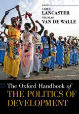 Omslag - The Oxford Handbook of the Politics of Development