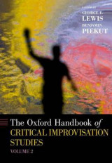 Omslag - The Oxford Handbook of Critical Improvisation Studies: Volume 2