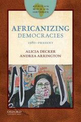 Omslag - African World Histories: Africanizing Democracies