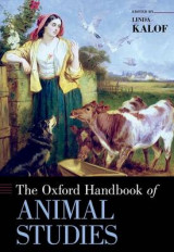 Omslag - The Oxford Handbook of Animal Studies