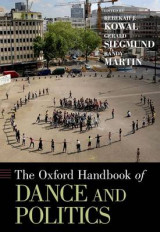 Omslag - The Oxford Handbook of Dance and Politics