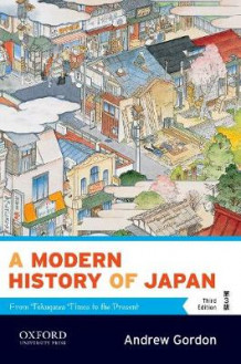 A Modern History of Japan av Andrew Gordon (Heftet)