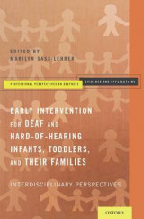 Omslag - Early Intervention for Deaf and Hard-of-Hearing Infants, Toddlers, and Their Families