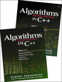 Algorithms in C++: Fundamentals, Data Structures, Sorting, Searching and Graph Algorithms Pts. 1-5 av Robert Sedgewick (Heftet)
