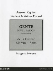 Answer Key for Student Activities Manual for Gente av Maria de la Fuente, Ernesto Martin Peris, Pablo Martinez Gila og Neus J. Sans (Heftet)