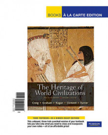 The Heritage of World Civilizations, Volume 1 av Professor Albert M Craig, William A Graham, Donald M Kagan, Steven Ozment og Frank M Turner (Perm)