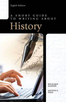 A Short Guide to Writing About History av Richard Marius og Melvin E. Page (Heftet)