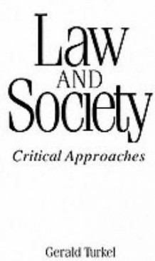 Law and Society av Gerald Turkel (Heftet)