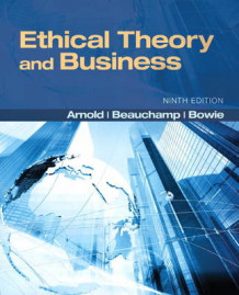 Ethical Theory and Business av Tom L. Beauchamp, Professor Norman E. Bowie og Denis G. Arnold (Heftet)