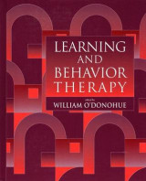 Omslag - Learning and Behavior Therapy