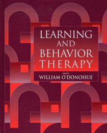 Learning and Behavior Therapy av William T. O'Donohue (Heftet)