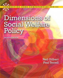 Dimensions of Social Welfare Policy Plus MySearchLab with Etext -- Access Card Package av Neil Gilbert og Paul Terrell (Blandet mediaprodukt)