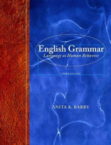 English Grammar av Anita K. Barry (Innbundet)