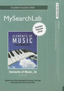 MySearchLab with Pearson EText -- Standalone Access Card -- for Elements of Music av Joseph Straus (Blandet mediaprodukt)
