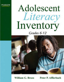 Adolescent Literacy Inventory, Grades 6-12 av William G. Brozo og Peter Afflerbach (Heftet)