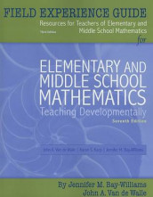 Field Experience Guide for Elementary and Middle School Mathematics av Jennifer M. Bay-Williams og John A. Van de Walle (Heftet)