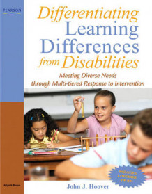 Differentiating Learning Differences from Disabilities av John J. Hoover (Heftet)