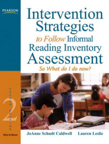 Intervention Strategies to Follow Informal Reading Inventory Assessment av JoAnne Schudt Caldwell og Lauren Leslie (Heftet)