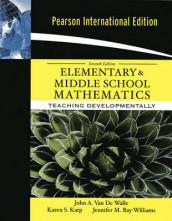 Elementary and Middle School Mathematics av Jennifer M. Bay-Williams, Karen Karp og John Van de Walle (Heftet)
