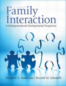 Family Interaction av Stephen A. Anderson og Ronald M. Sabatelli (Heftet)