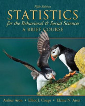 Statistics for The Behavioral and Social Sciences av Arthur Aron, Elaine N. Aron og Elliot Coups (Heftet)