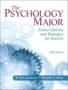 The Psychology Major av R. Eric Landrum og Stephen F. Davis (Heftet)