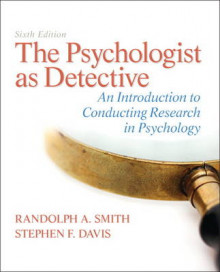 The Psychologist as Detective av Randolph A. Smith og Stephen F. Davis (Innbundet)