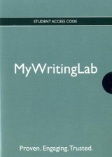 Omslag - MyLab Writing Generic without Pearson eText -- Valuepack Access Card