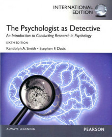 The Psychologist as Detective av Randolph A. Smith og Stephen F. Davis (Heftet)