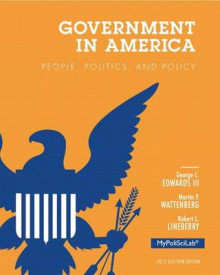 Government in America: Election Edition av Edwards, Professor of Political Science Martin P Wattenberg og Robert L Lineberry (Perm)