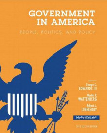 Government in America av Edwards, Professor of Political Science Martin P Wattenberg og Robert L Lineberry (Blandet mediaprodukt)