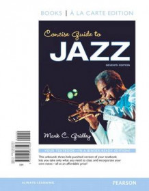 Concise Guide to Jazz, Books a la Carte Edition av Mark C Gridley (Perm)