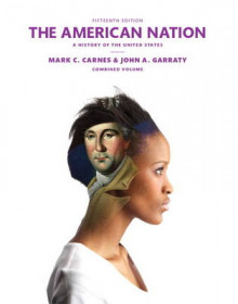 The American Nation av Mark C. Carnes og John A. Garraty (Heftet)